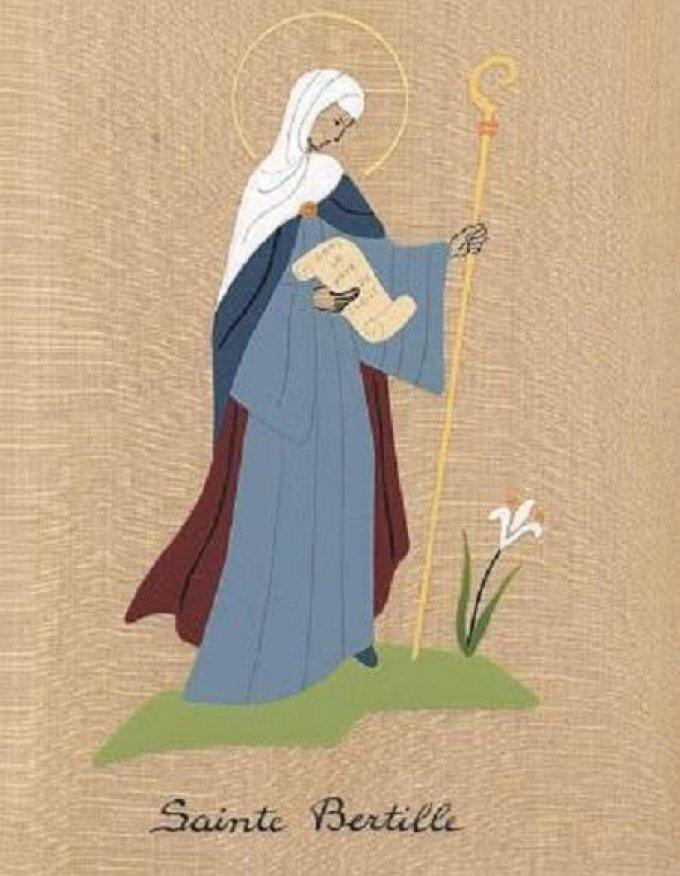 Le 5 novembre : Sainte Bertille