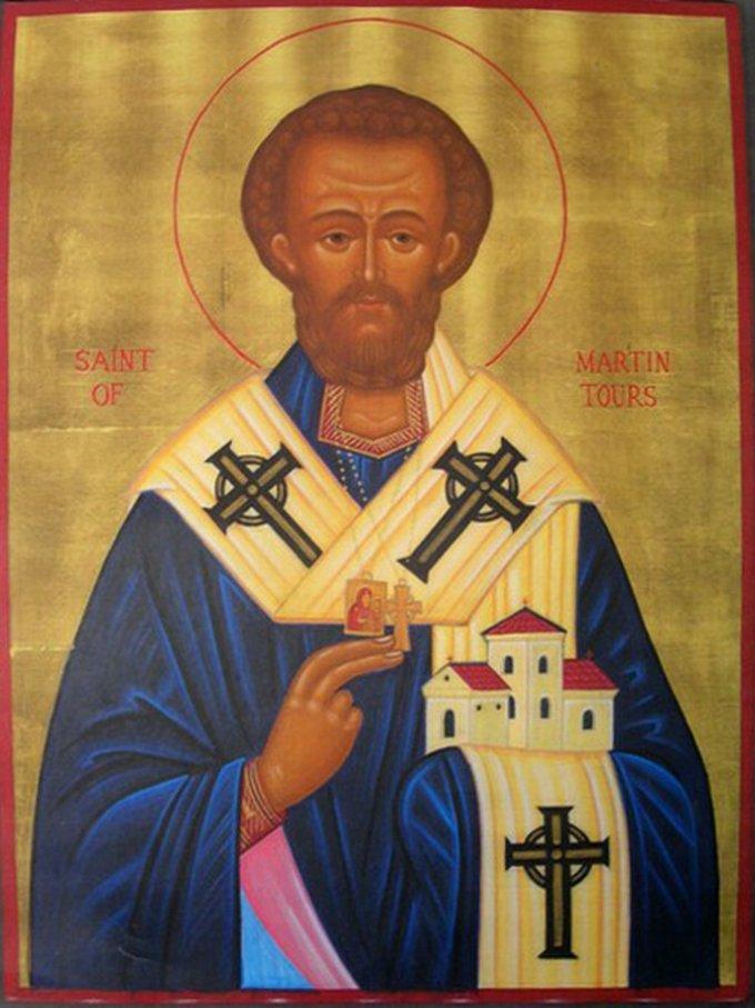 Le 11 novembre : Saint Martin de Tours