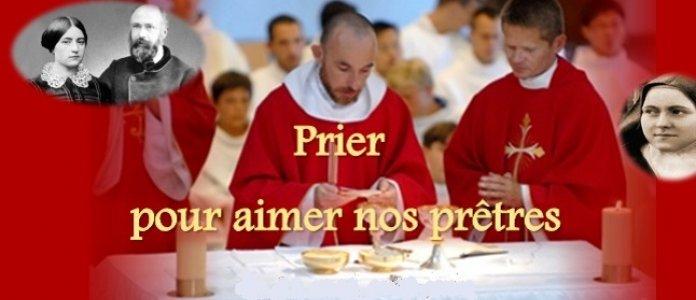 Prions pour aimer les prêtres