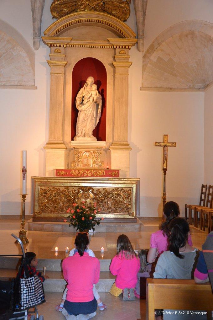 Vendredi 23/12 : Prions avec Marie !