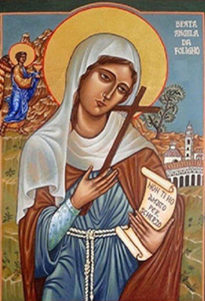 Le 4 janvier : Sainte Angèle de Foligno