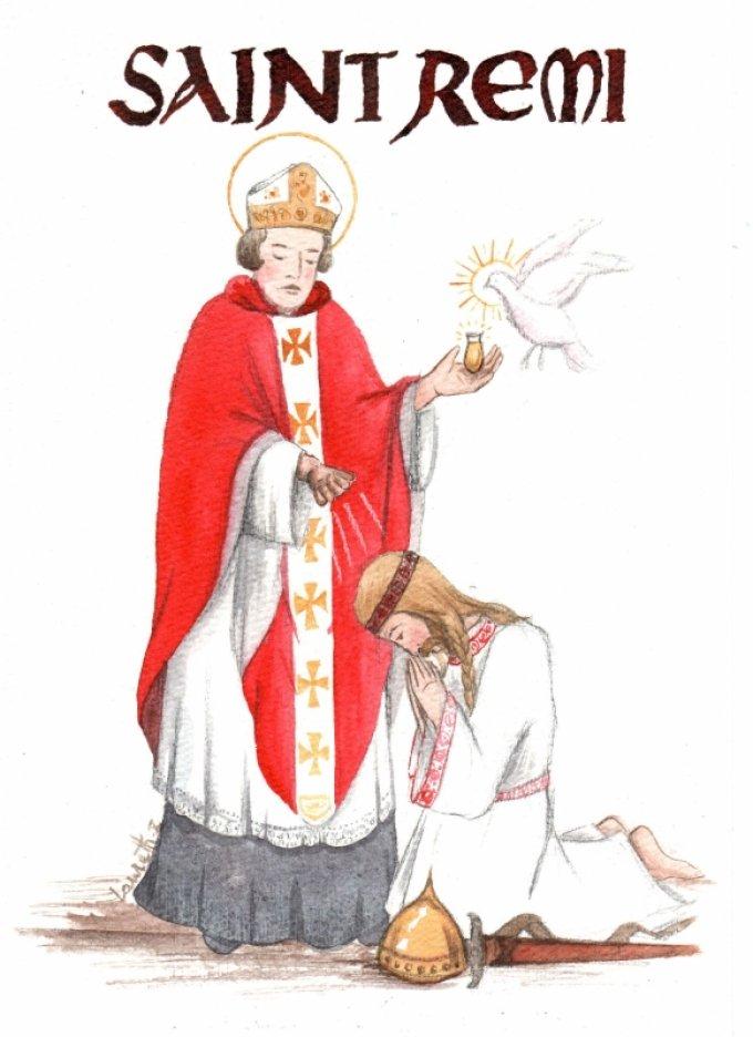 Le 15 janvier : Saint Rémi