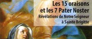 Les 15 Oraisons de Ste Brigitte