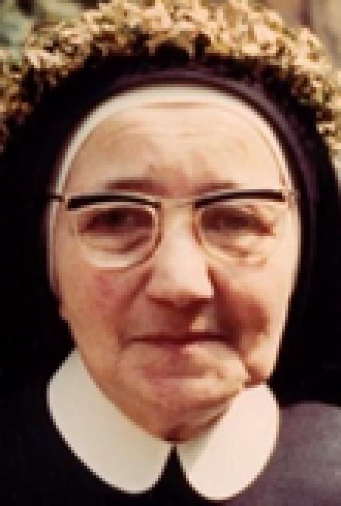 Le 18 janvier : Vénérable Emanuela Maria Magdalena Kalb