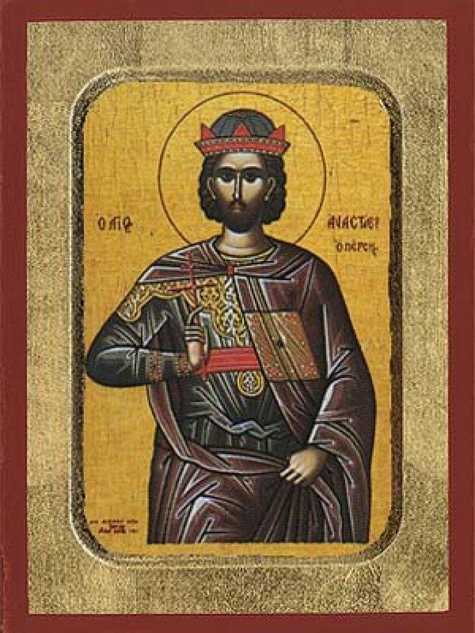 Le 22 janvier : Saint Anastase