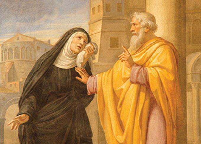 Sainte Monique et Saint Augustin