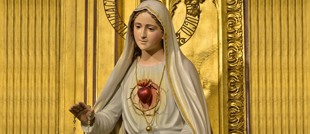 Fatima 100 ans et + Mon Cœur Immaculé sera ton refuge...