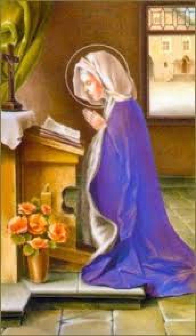 SAUVER 1000 AMES!! chaque fois que vous recitez le Chapelet de Sainte Gertrude