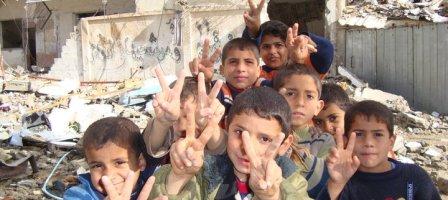 Prions pour les enfants qui vivent dans un pays en guerre.