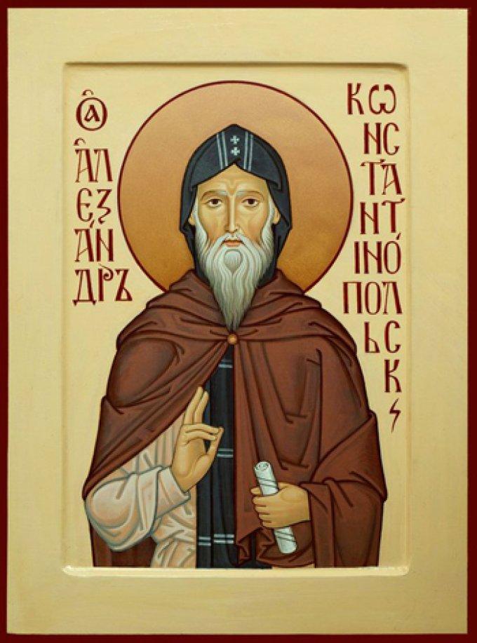Le 23 février : Saint Alexandre l'Acémète
