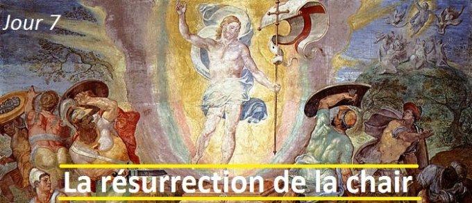 Jour 7 - La résurrection de la chair