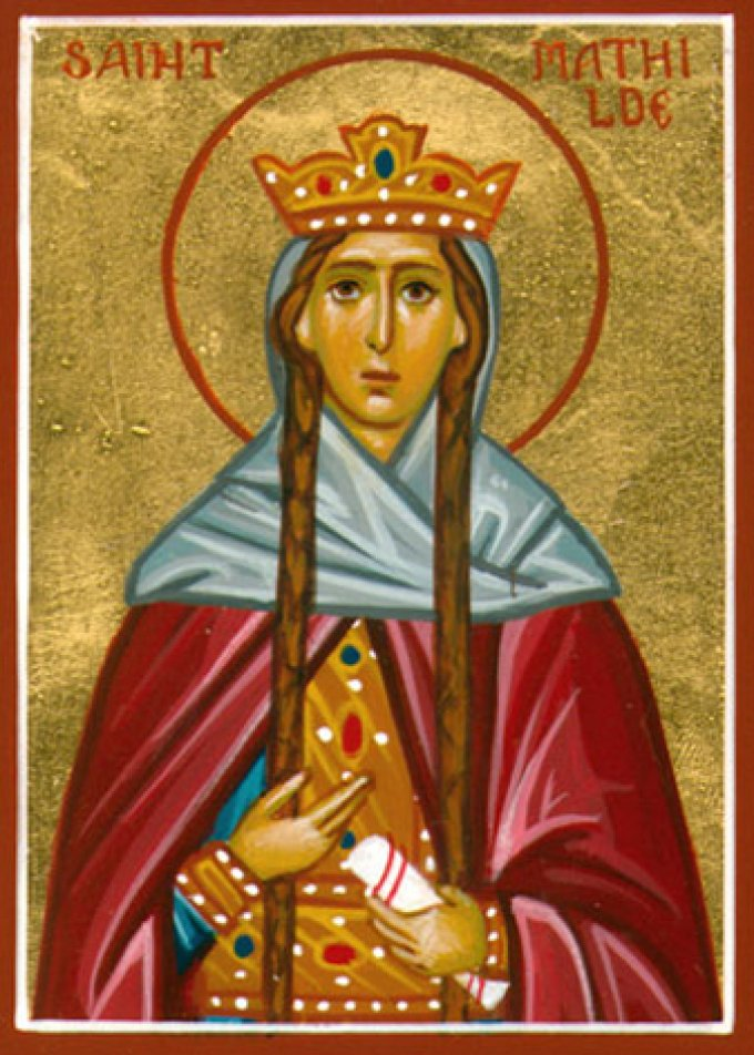 Le 14 mars : Sainte Mathilde