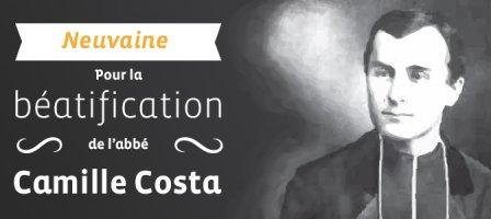 Neuvaine pour la béatification de l'abbé Camille Costa