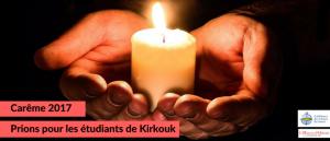 Prions pour les étudiants de Kirkouk (Irak)