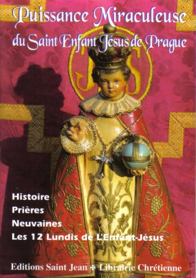 Neuvaine au St Enfant Jésus Miraculeux de Prague