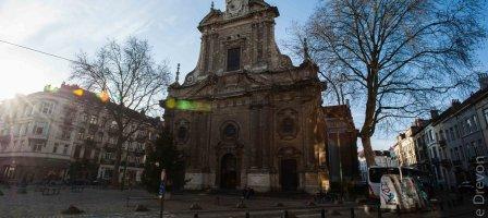 Prions pour l'église de la Trinité à Bruxelles