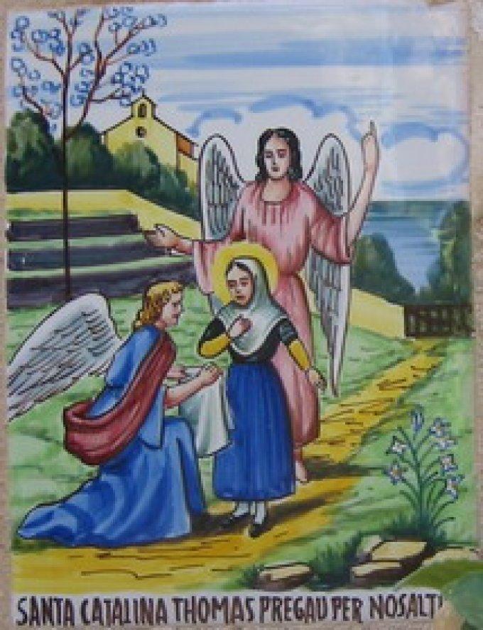 Le 6 avril : Sainte Catherine Thomas