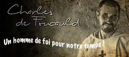 PRIER AVEC LE FRÈRE CHARLES DE FOUCAULD