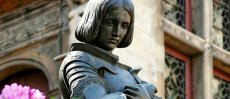 Ste Jeanne d'Arc Sauvez la France!