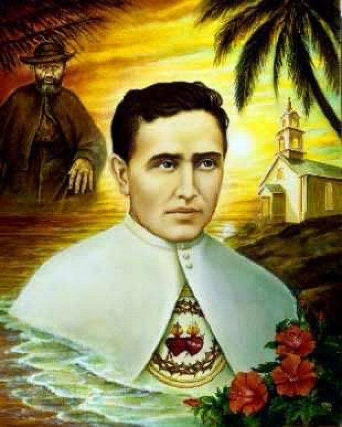 Le 10 mai : Saint Damien de Molokaï