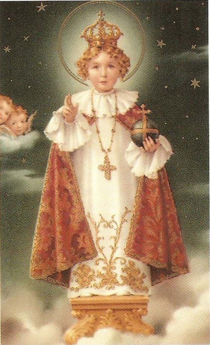 Prière de l'étudiant à l'Enfant Jésus de Prague