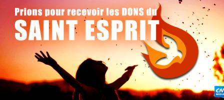 7 jours pour recevoir les dons du Saint Esprit