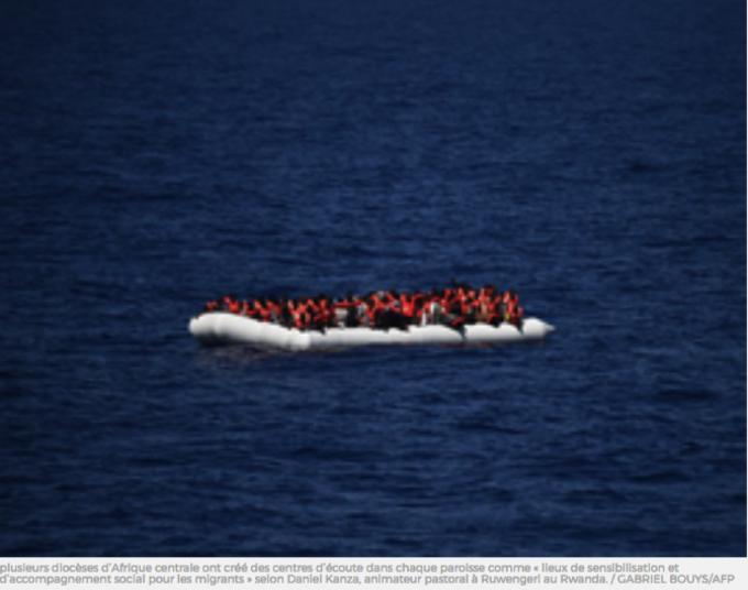 Prions pour les migrants
