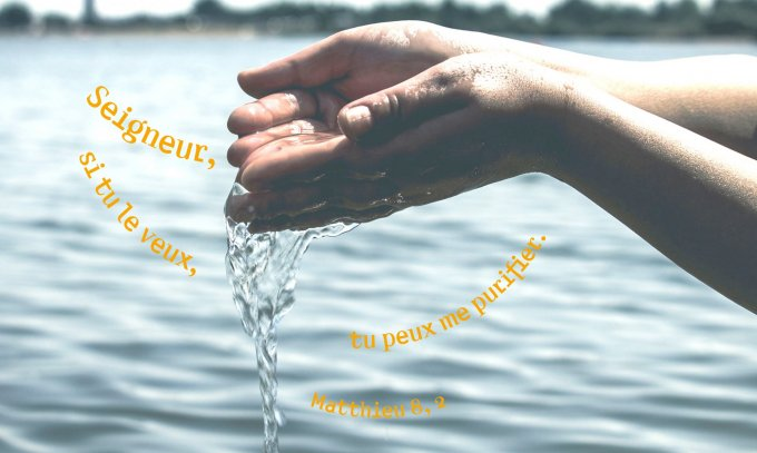 Seigneur, si tu le veux, tu peux me purifier.