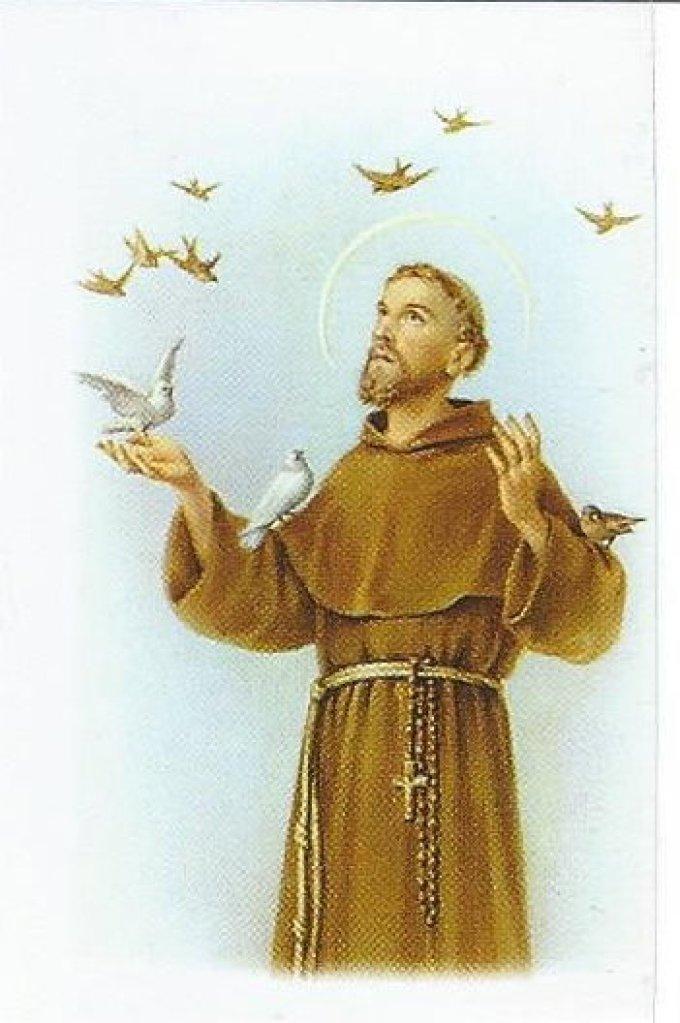 Prière à Saint François