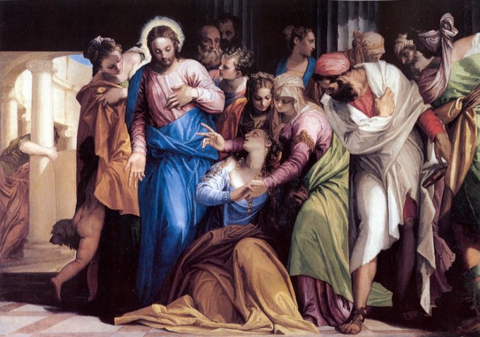 Jour 1 - La pécheresse pardonnée