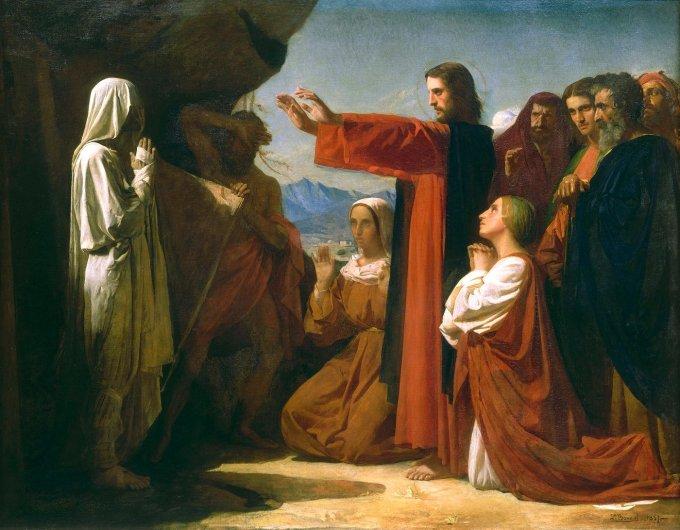 L'amitié : La résurrection de Lazare
