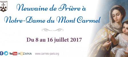 Neuvaine Notre-Dame du Mont-Carmel 8-16 juillet