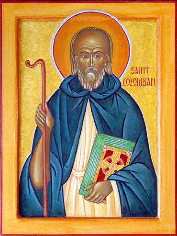 Le 2 juillet : Saint Colomban