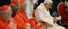 Prions pour Notre Pape émérite Benoit XVI