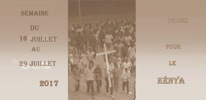 16 avril, prions pour le Kenya avec l'A E D