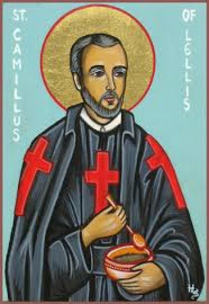 Le 14 juillet : Saint Camille de Lellis