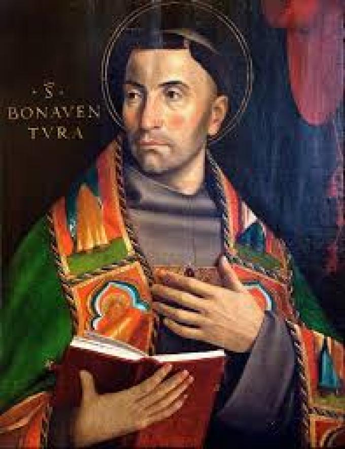 Le 15 juillet : Saint Bonaventure