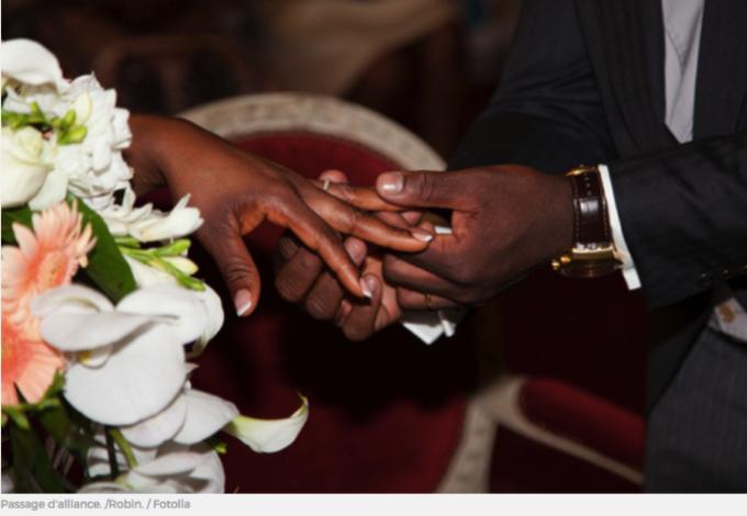 Prions pour le sacrement du mariage.