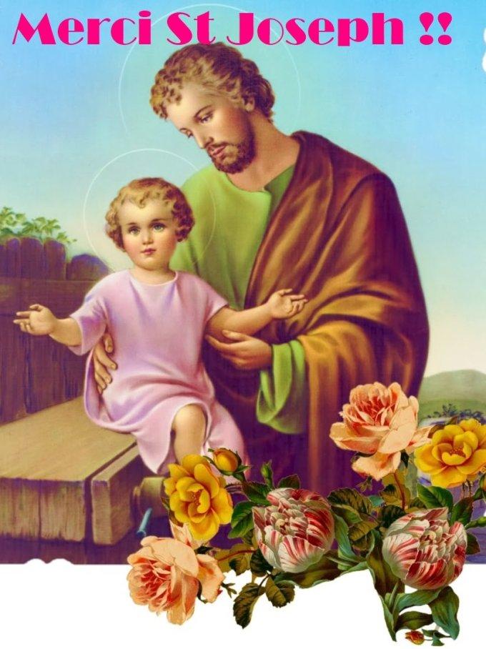 Incroyable Saint Joseph : MERCI !!