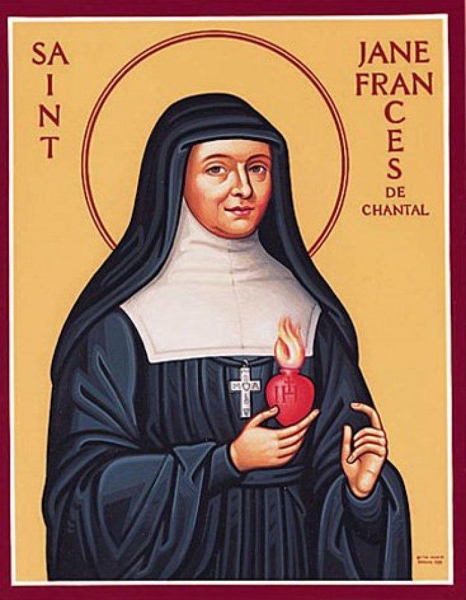 Le 12 août : Sainte Jeanne-Françoise de Chantal