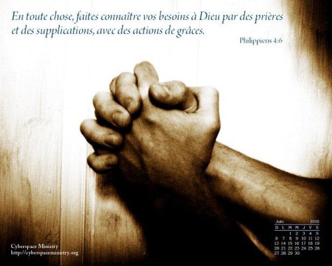 Mener une vie de prière: l'attitude du vrai serviteur de Christ