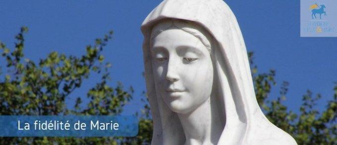 Jour 9 - La fidélité et la confiance de Marie dans la durée