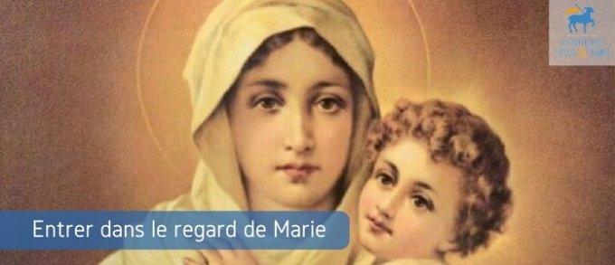 Jour 22 - Entrer dans ce regard de Marie