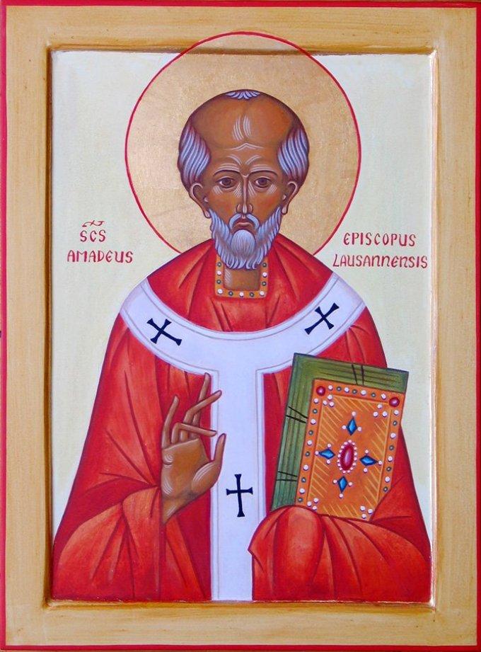 Le 1er septembre : Saint Amédée