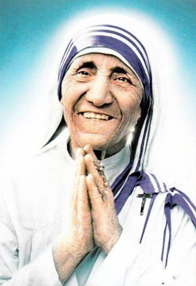 Le 5 septembre : Sainte Teresa de Calcutta