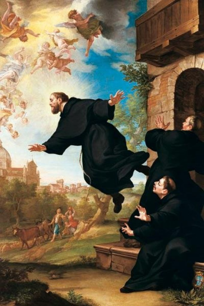 Le 16 septembre : Saint Joseph de Cupertino