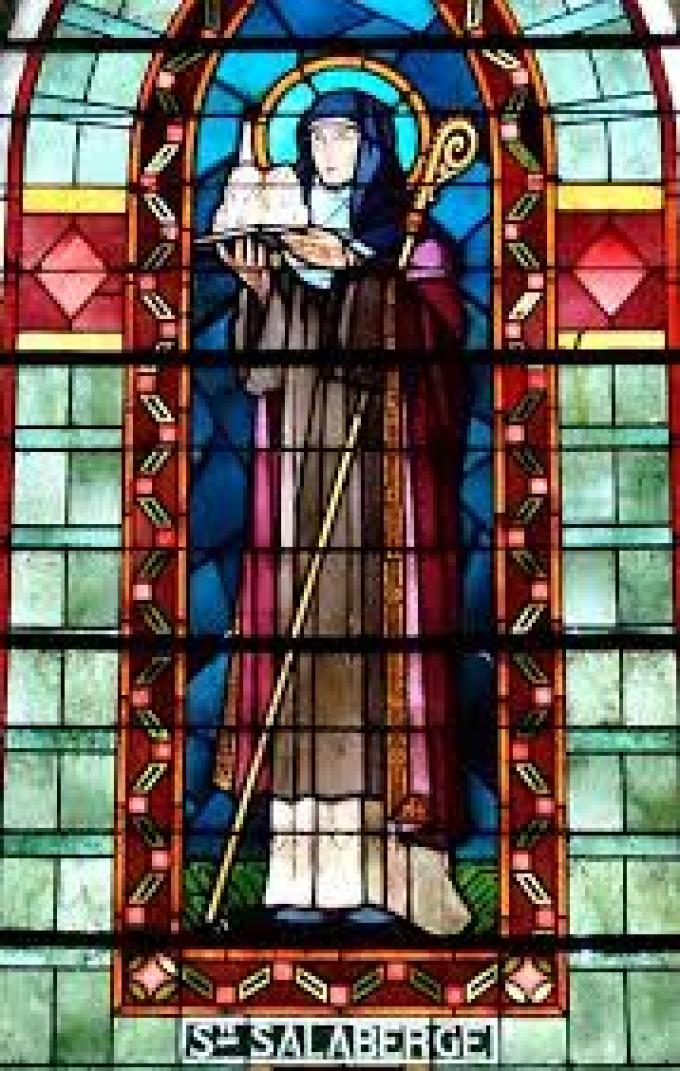 Le 22 septembre : Sainte Salaberge