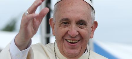 Autour de l'actualité du Saint Père le Pape François