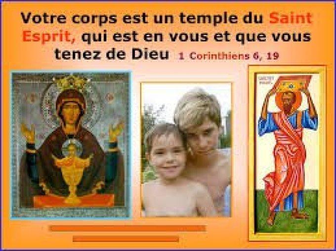 PRIER POUR « DEVENIR UN TEMPLE DE DIEU PORTEUR/PROMOTEUR DE PAIX