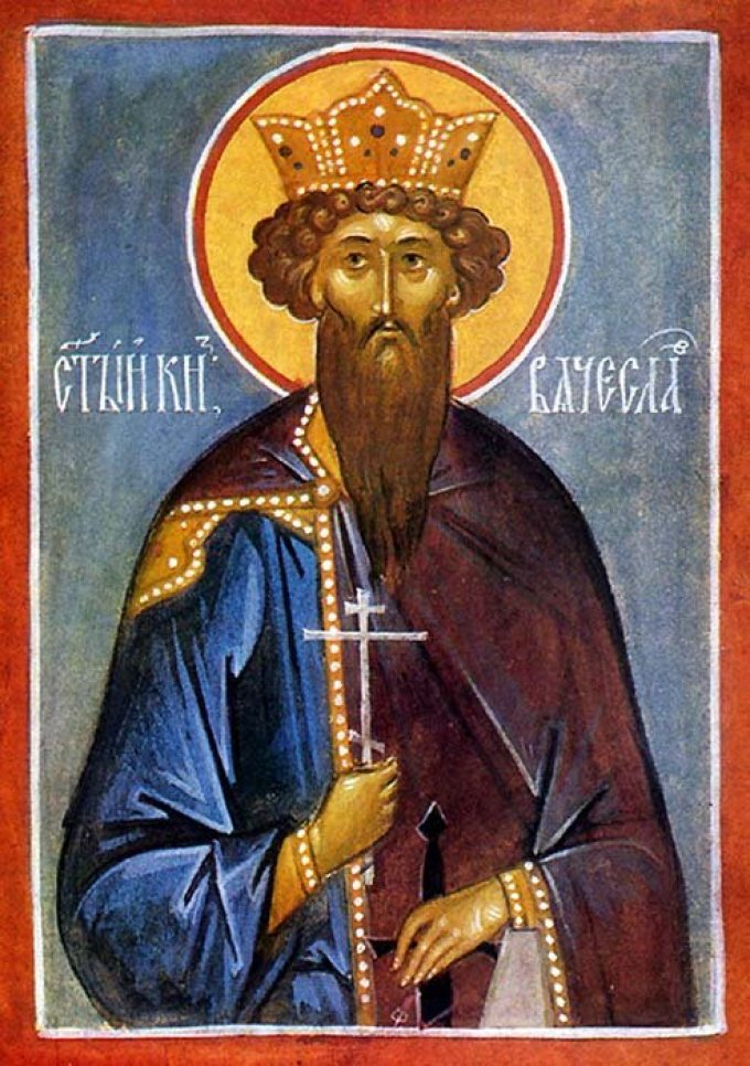 Le 28 septembre : Saint Venceslas